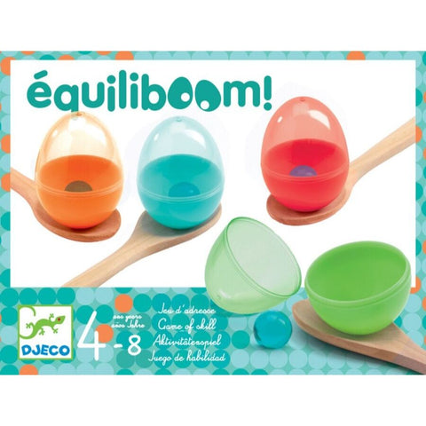 Djeco Equiliboom Egg and Spoon Game | KidzInc Australia | Online Educational Toy