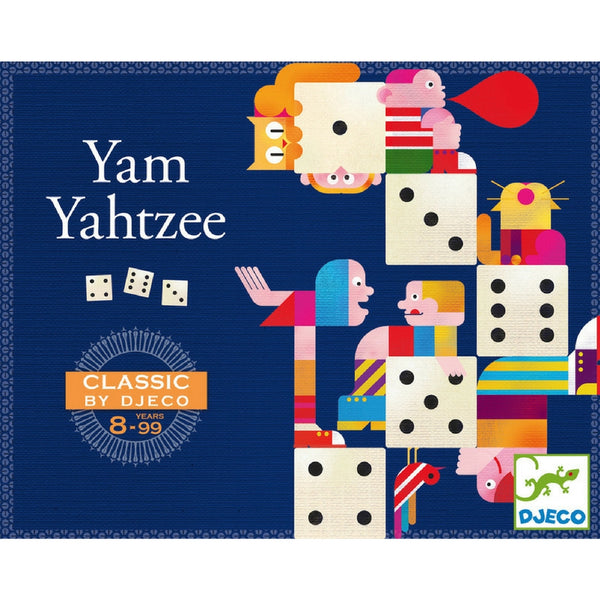Djeco - Yahtzee Game | KidzInc Australia | Online Educational Toy Store