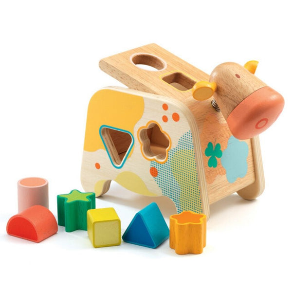 Djeco Maggy Wooden Shape Sorter | Gifts for Toddlers KidzInc Australia