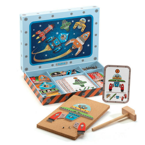 Djeco - Space Tap Tap Game | KidzInc Australia | Online Educational Toy Store