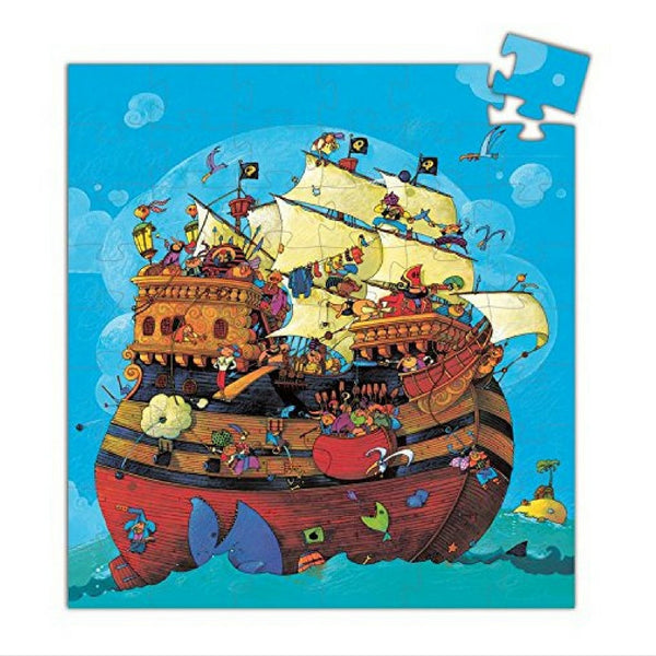 Djeco - Barbarossa's Boat Puzzle 54 Pieces | KidzInc Australia | Online Educational Toy Store
