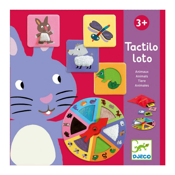Djeco - Tactilo Lotto Animal Game | KidzInc Australia | Online Educational Toy Store