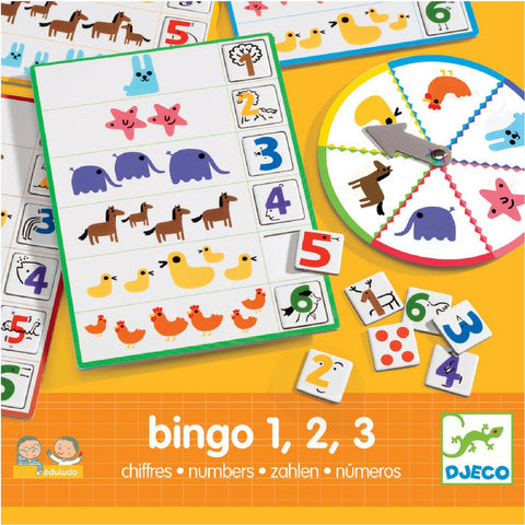 Djeco - Bingo Numbers Educational Game | KidzInc Australia | Online Educational Toy Store
