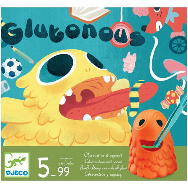 Djeco Glouton Observation and Speed Game | KidzInc Australia