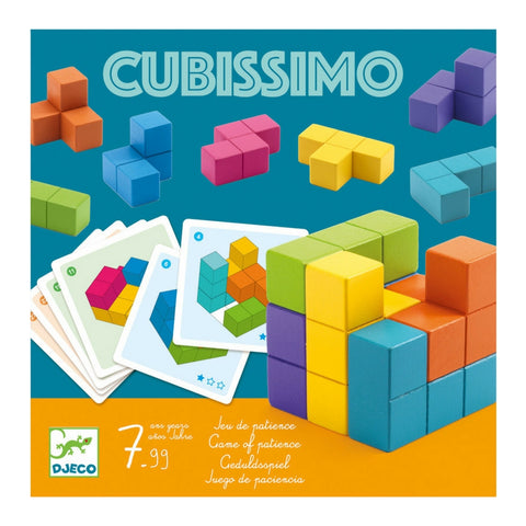 Djeco - Cubissimo Teaser Wooden Game | KidzInc Australia | Online Educational Toy Store
