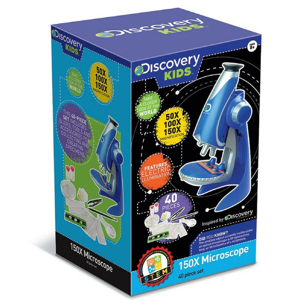 Discovery Kids - 150x Microscope | KidzInc Australia | Online Educational Toy Store
