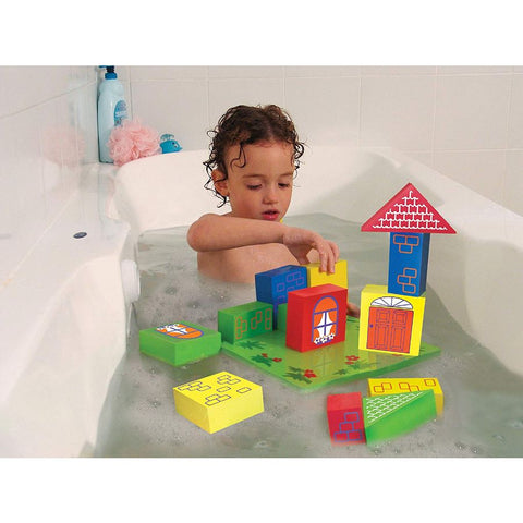 Edushape Floating Foam Blocks Bath Toy | KidzInc Australia Online Toys