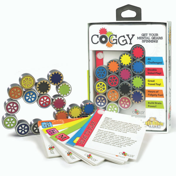 Fat Brain Toy Co - Coggy Brainteasing Puzzle | KidzInc Australia | Online Educational Toy Store