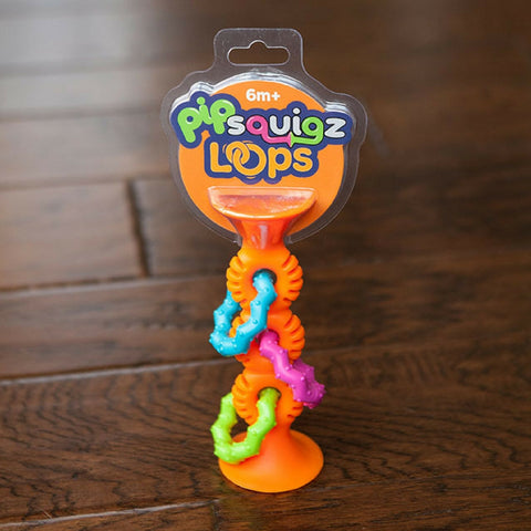 Fat Brain Toys - pipSquigz Loops Orange | KidzInc Australia | Online Educational Toy Store