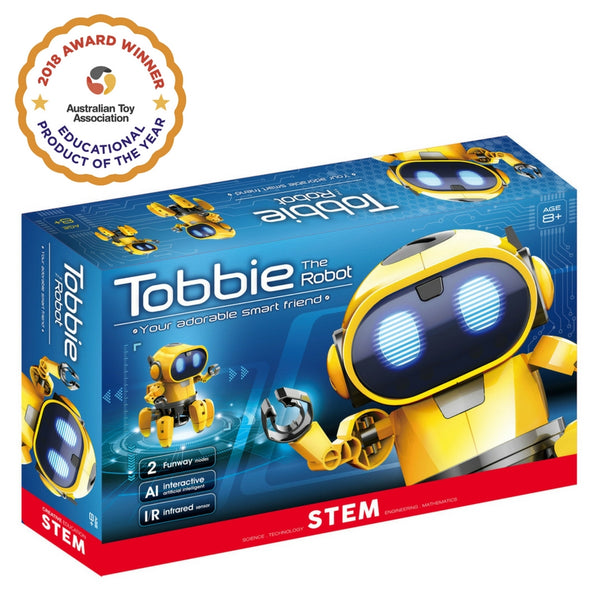 CIC - Tobbie The Robot (PRE-ORDER NOW) | KidzInc Australia | Online Educational Toy Store