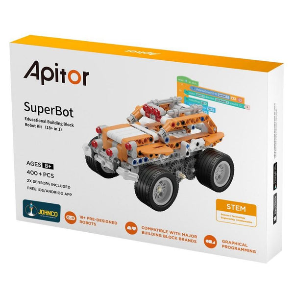 JohnCo - Apitor Superbot Robot Building Kit