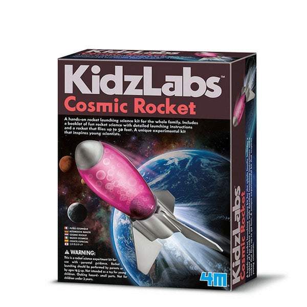 4M - KidzLabs Cosmic Rocket | KidzInc Australia | Online Educational Toy Store