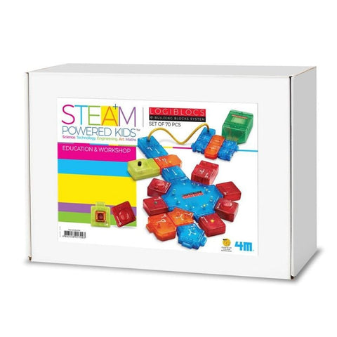 4M STEAM Powered Kids LogicBlocs Education School Kit KidzInc Australia | Online Educational Toys