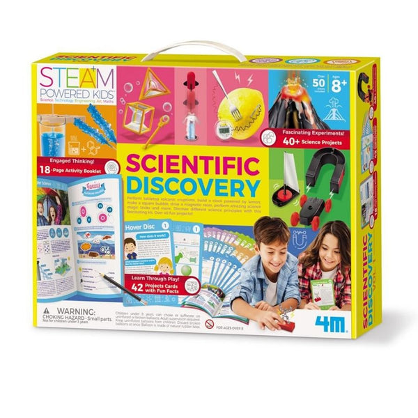 4M STEAM Powered Kids Scientific Discovery Science Kit | KidzInc Australia | Online Educational Toys