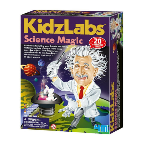 4M - KidzLabs Science Magic Kit | KidzInc Australia | Online Educational Toy Store