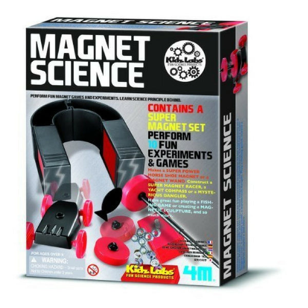 4m - KidzLabs Magnet Science Kit | KidzInc Australia | Online Educational Toy Store