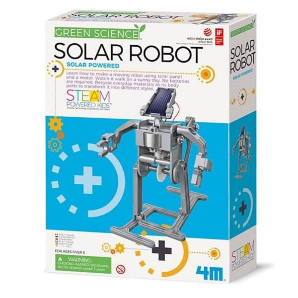 4M Green Science Engineering Solar Powered Robot | KidzInc Australia