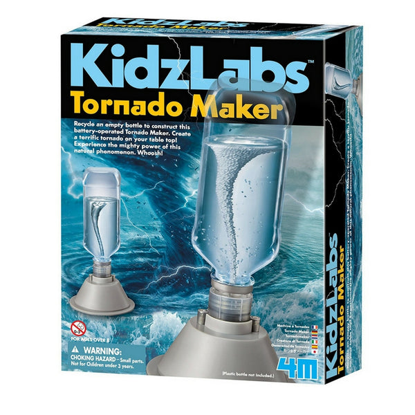 4M - KidzLabs Tornado Maker Science Kit | KidzInc Australia | Online Educational Toy Store