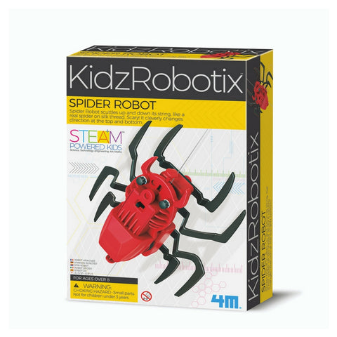 4M - KidzRobitx Spider Robot STEM Kit | KidzInc Australia | Online Educational Toy Store
