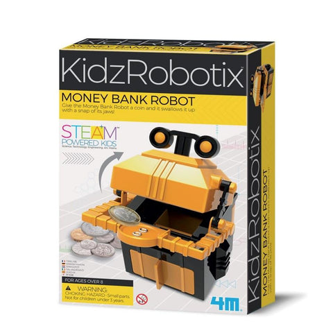 4M KidzRobotix Money Bank Robot STEM Science Kit | Kidzinc Australia | Online Educational Toys