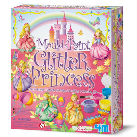 4M - Mould and Paint Glitter: Princess | KidzInc Australia | Online Educational Toy Store