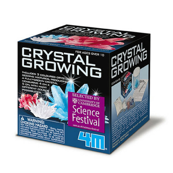 4M - Crystal Growing Chemistry Experimenting Kit | KidzInc Australia | Online Educational Toy Store