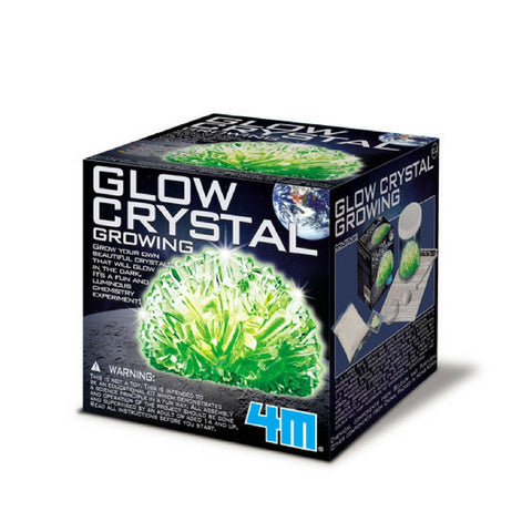4M - Glow Crystal Growing Experiment Kit | KidzInc Australia | Online Educational Toy Store