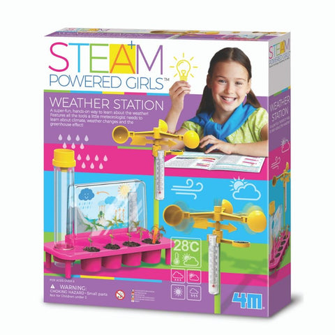 4M STEAM Powered Girls Weather Station | KidzInc Australia Online Toys