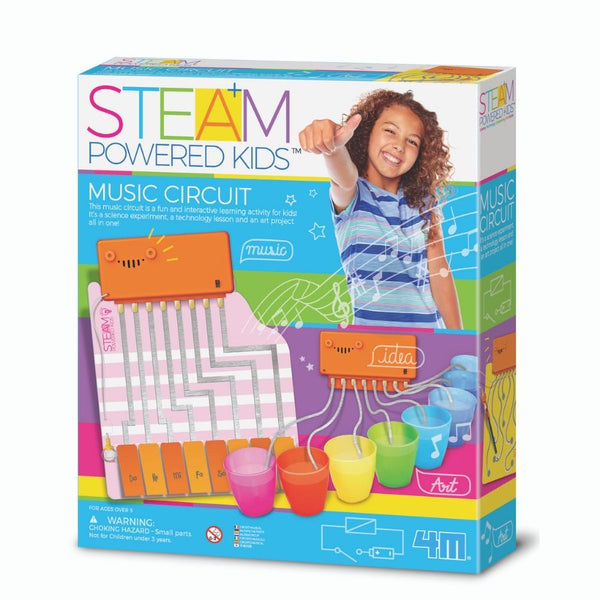 4M STEAM Powered Kids Music Circuit | KidzInc Australia | Online Toys