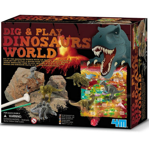 4M - Dig and Play Dinosaur World | KidzInc Australia | Online Educational Toy Store