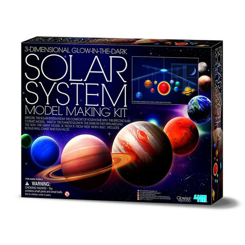 4M - 3D Solar System Model Making Kit | KidzInc Australia | Online Educational Toy Store