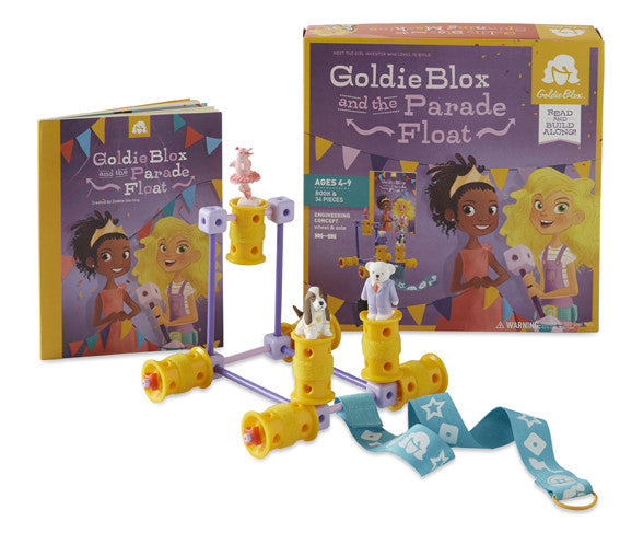 GoldieBlox and the Parade Float | KidzInc Australia | Online Educational Toy Store