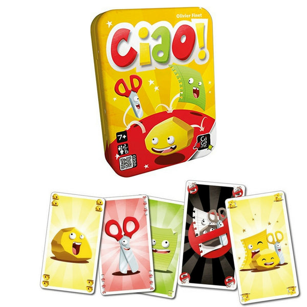 Gigamic - Ciao! Card Game | KidzInc Australia | Online Educational Toy Store