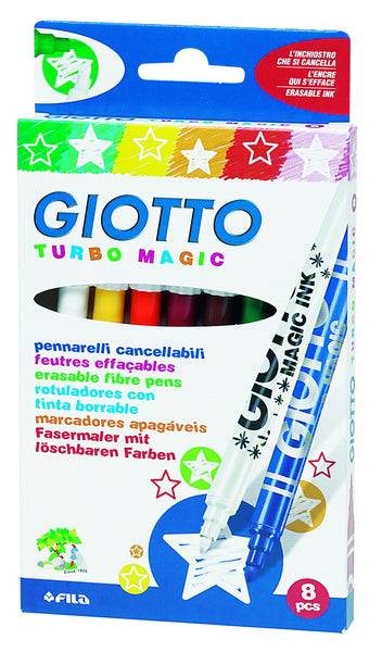 Giotto - Turbo Magic Markers (Packet of 8) | KidzInc Australia | Online Educational Toy Store