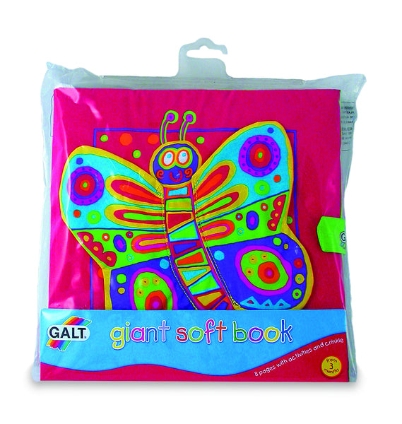 Galt - Giant Soft Book | KidzInc Australia | Online Educational Toy Store