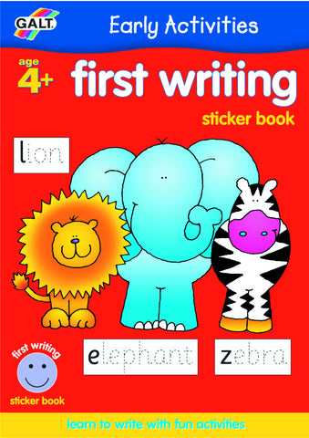 Galt - First Writing Sticker Book | KidzInc Australia | Online Educational Toy Store