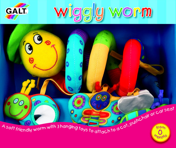 Galt - Wiggly Worm | KidzInc Australia | Online Educational Toy Store