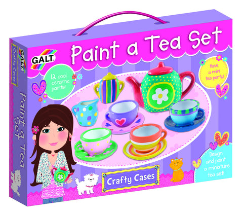 Galt - Paint a Tea Set | KidzInc Australia | Online Educational Toy Store