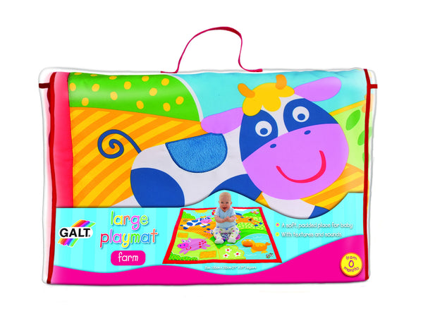 Galt - Large Playmat - Farm | KidzInc Australia | Online Educational Toy Store