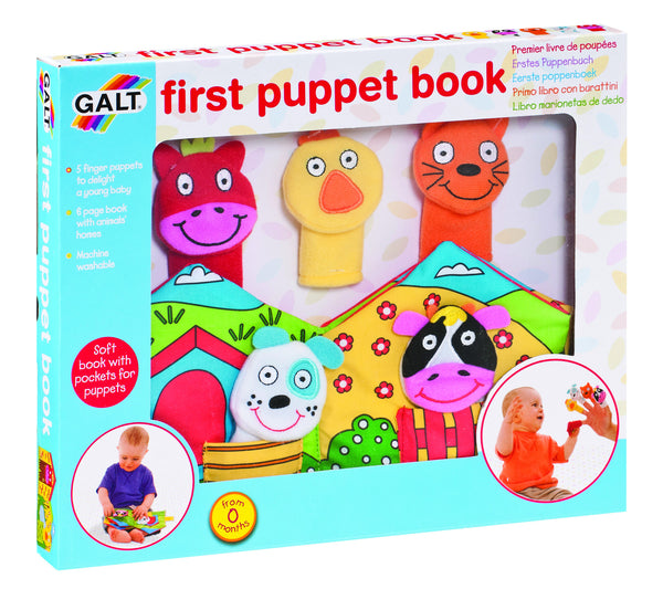 Galt - First Puppet Book | KidzInc Australia | Online Educational Toy Store