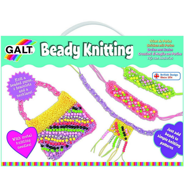 Galt - Beady Knitting Craft Set | KidzInc Australia | Online Educational Toy Store