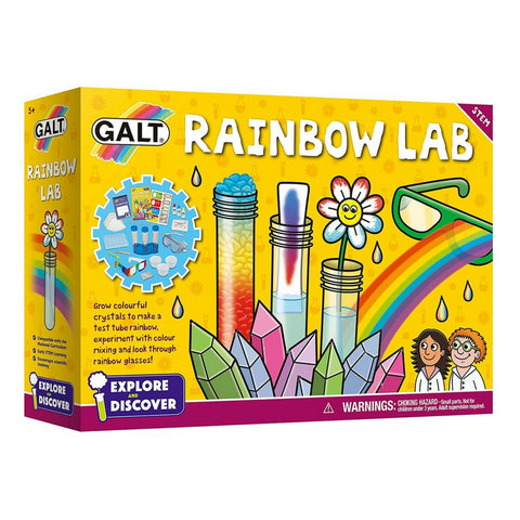 Galt - Explore and Discover: Rainbow Lab Science Kit | KidzInc Australia | Online Educational Toy Store