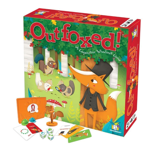 Gamewright Games Outfoxed! A Cooperative Game for Kids | KidzInc