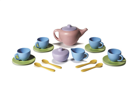 Green Toys - Tea Set | KidzInc Australia | Online Educational Toy Store