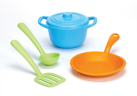 Green Toys - Chef Set | KidzInc Australia | Online Educational Toy Store