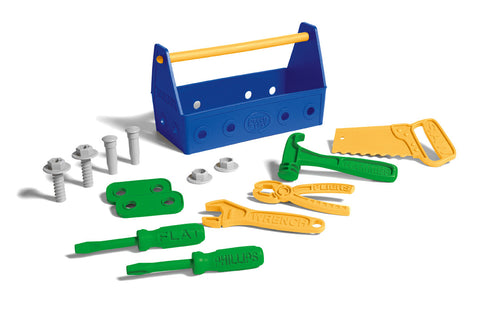 Green Toys - Blue Tool Set | KidzInc Australia | Online Educational Toy Store