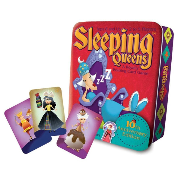 Gamewright Sleeping Queens Anniversary Edition Card Game | KidzInc