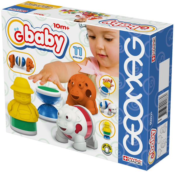 GeoMag Gbaby Farm (11 Pieces) | KidzInc Australia | Online Educational Toy Store