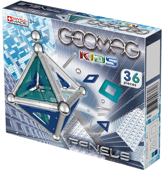 GeoMag Kids Panels 36 Pieces | KidzInc Australia | Online Educational Toy Store