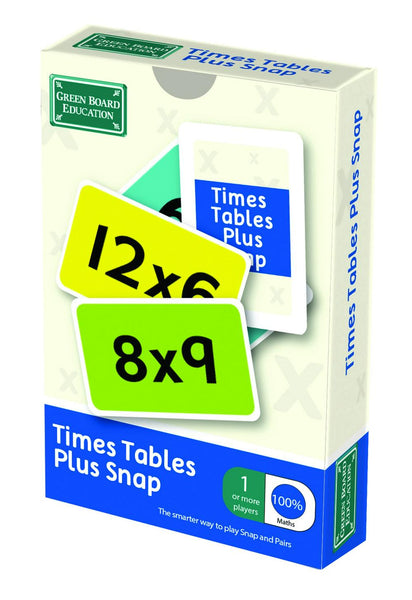 Green Board Education Games Times Tables Plus Snap Games | Maths Games